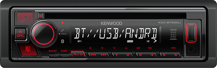 KENWOOD KDC-530BT