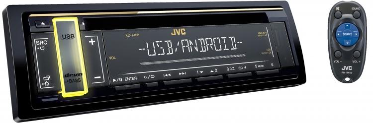 JVC KD-T408 پخش صوتی جی وی سی