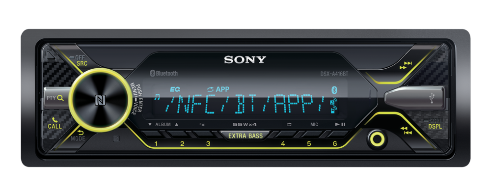 Sony DSX-A416BT پخش سونی ۴۱۶
