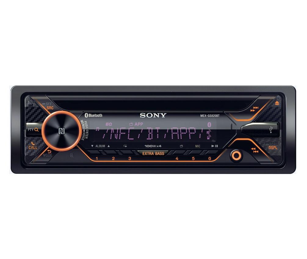 Sony MEX-GS820BT ضبط ۸۲۰ سونی
