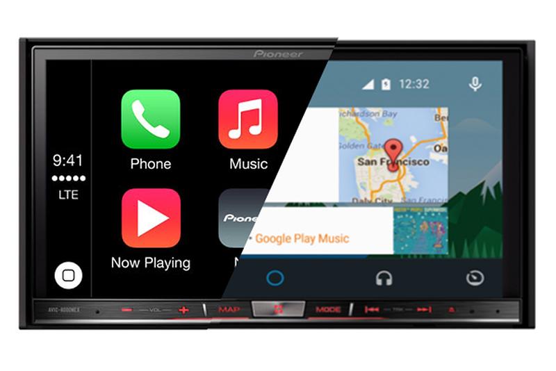 مقایسه Apple CarPlay یا Android Auto در ضبط ماشین