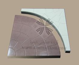 سنگ مصنوعی خورشیدی دو تکه