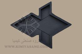 قالب لاستیکی کف پوش گل سه بعدی