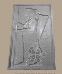 قالب سنگ مصنوعی سرباز هخامنشی