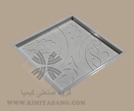 قالب سنگ مصنوعی گل و زنجیر