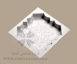 قالب سنگ مصنوعی کف پوش گل