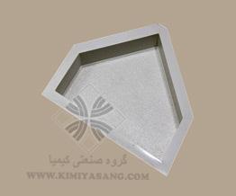 قالب سنگ مصنوعی پنج ضلعی سنگریزه