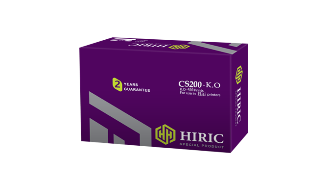 ریبون صدورکارت هایریک Hiric CS-2 500-Prints K.O