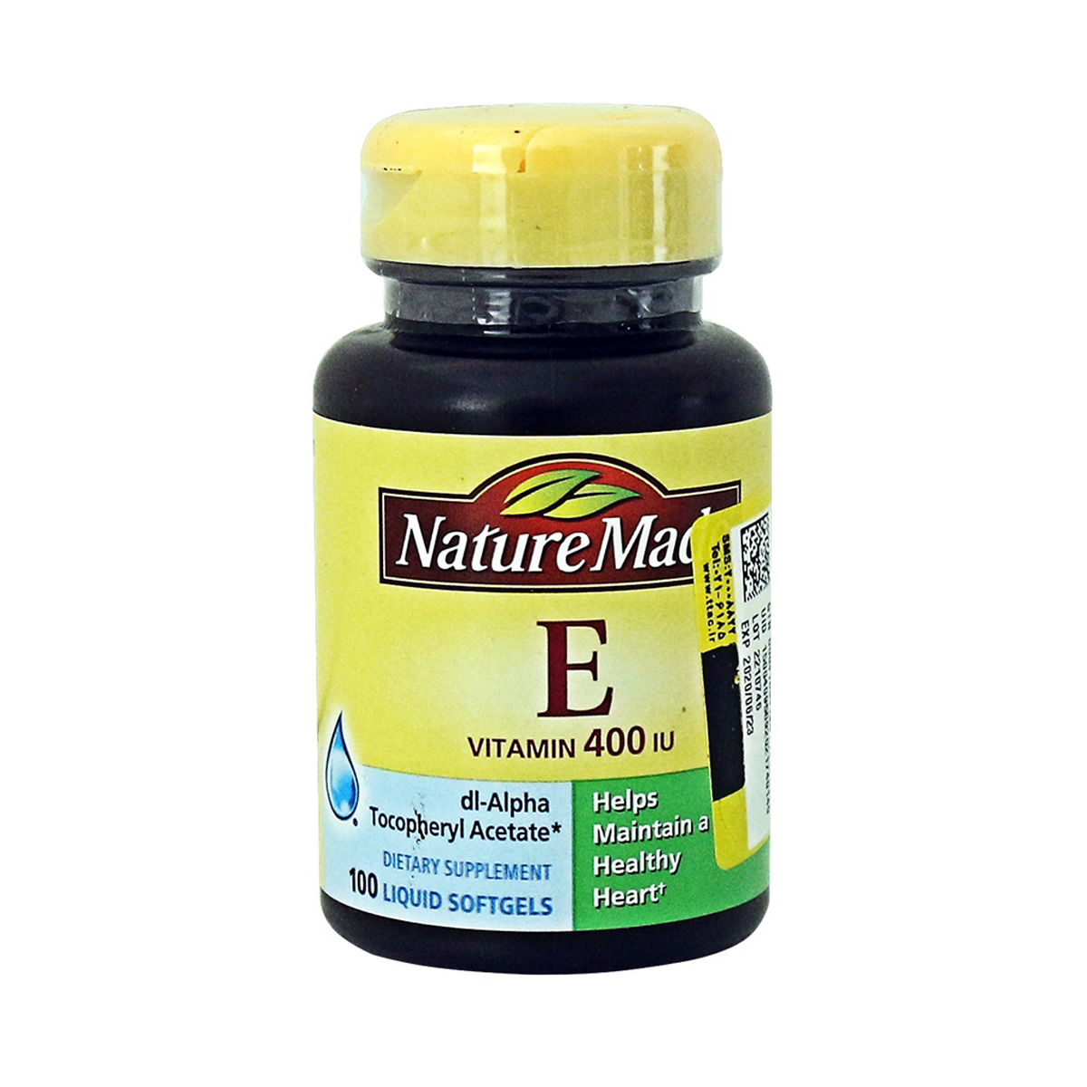 قرص ویتامین E400 نیچر مید