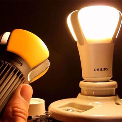 لامپ های LED فیلیپس جایگزین لامپ های خانه می شوند !