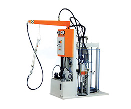Poly-sulfate machine or double-sided adhesive machine
