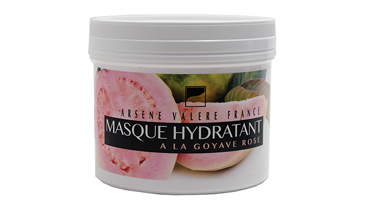 Moisturizing mask with pink guava