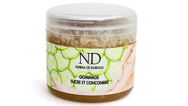 SUGAR AND CUCUMBER SCRUB