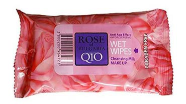 Wipes Milk Make up Rosewater