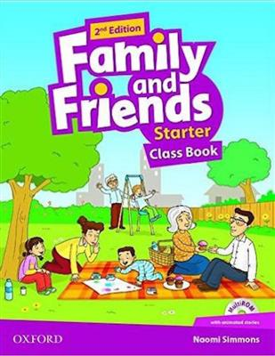 (Family and Friends Starter -2nd (CB+WB