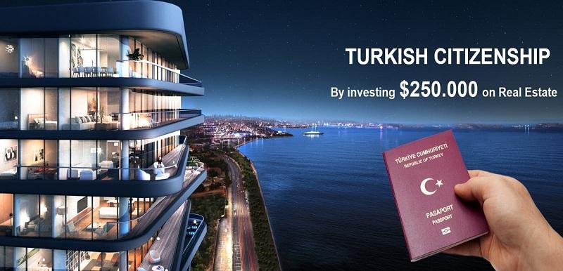 با ۲۵۰ هزار دلار چرا بیاییم شهروندی ترکیه رو بگیریم ؟