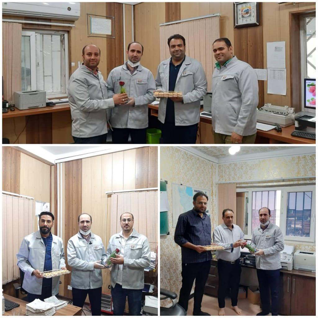 🔸 بازدید مشاور ارشد مدیر عامل از دفاتر و مراکز در حال فعالیت شرکت فولاد لجستیک ایام عید سعید فطر