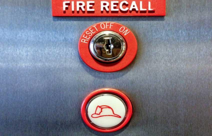 ضوابط طراحی آسانسور آتش نشان