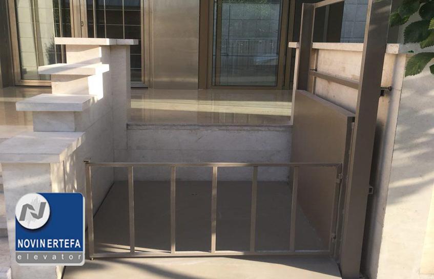 اجاره آسانسور برای دریافت پایان کار