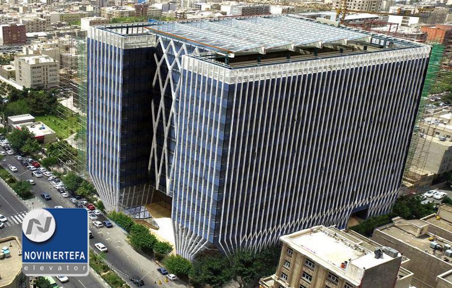 ساختمان جدید بورس و اوراق بهادار