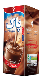 شیر کاکائو کم چرب فرادما