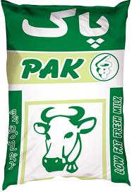 شیر کیسهای کم چرب