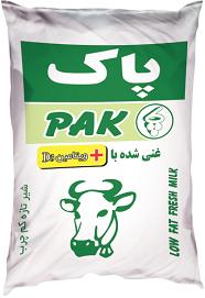شیر کیسهای کم چرب غنی شده با ویتامین D3