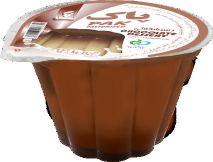دسر شکلات لیوانی پاک