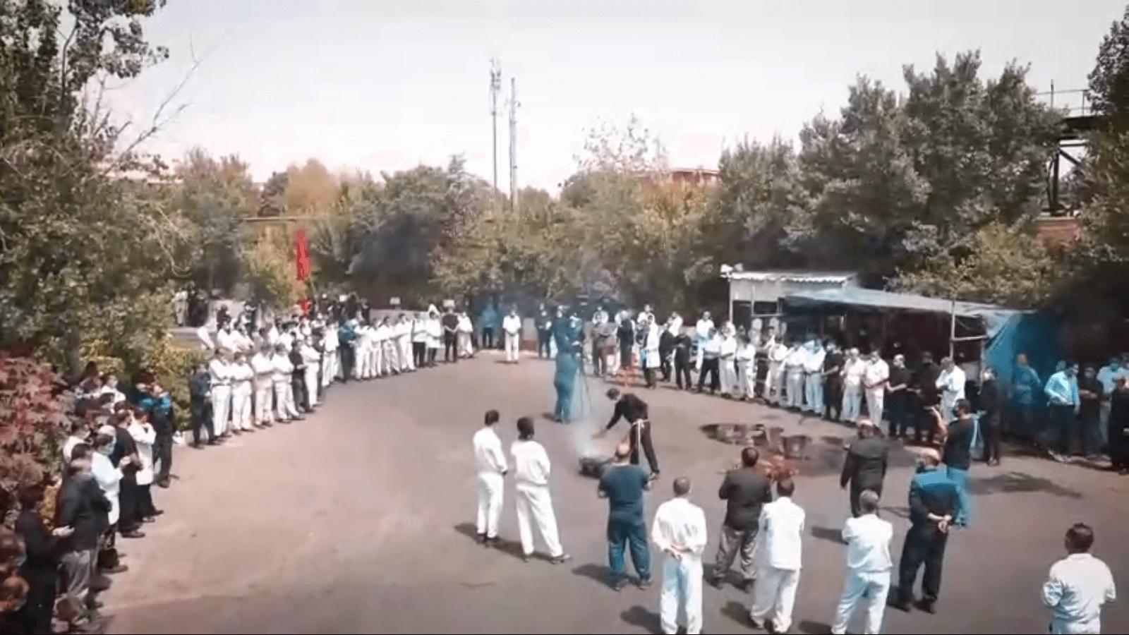 برگزاری مراسم تاسوعای حسینی در شرکت لبنیات پاک