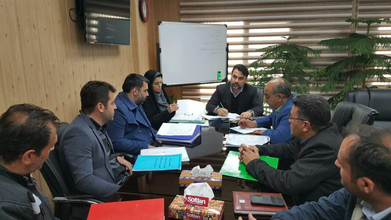 برگزاری نشست شهردار پرند با رئیس اداره آبفا