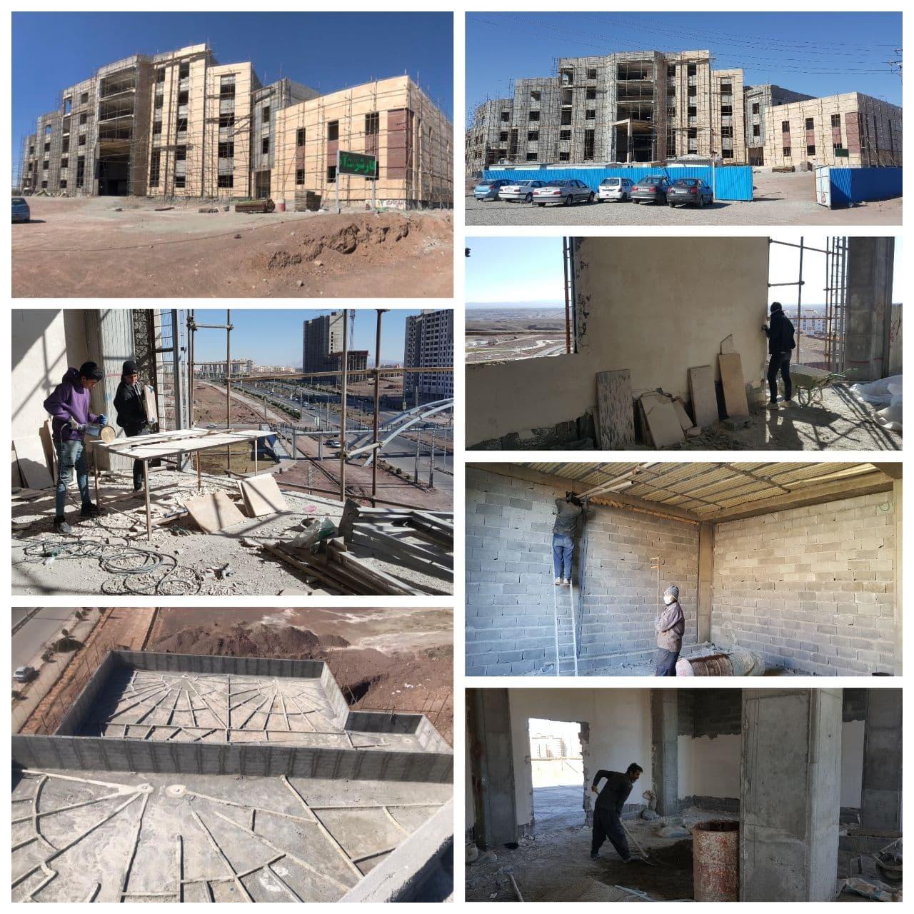 تداوم احداث ساختمان مرکزی شهرداری پرند