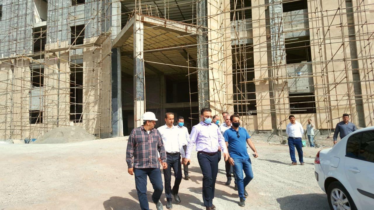 تسریع در روند احداث ساختمان مرکزی شهرداری