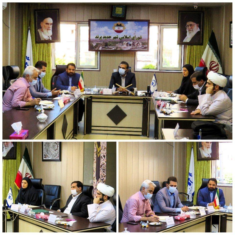 نخستین نشست هم اندیشی شهردار پرند با شورای اسلامی شهر برگزار شد