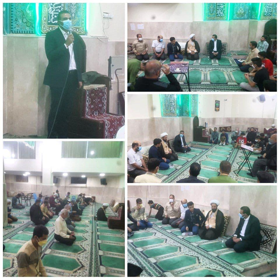نشست هم اندیشی رئیس شورای اسلامی شهر پرند با نمازگزاران و نخبگان مسجد امام جواد ع