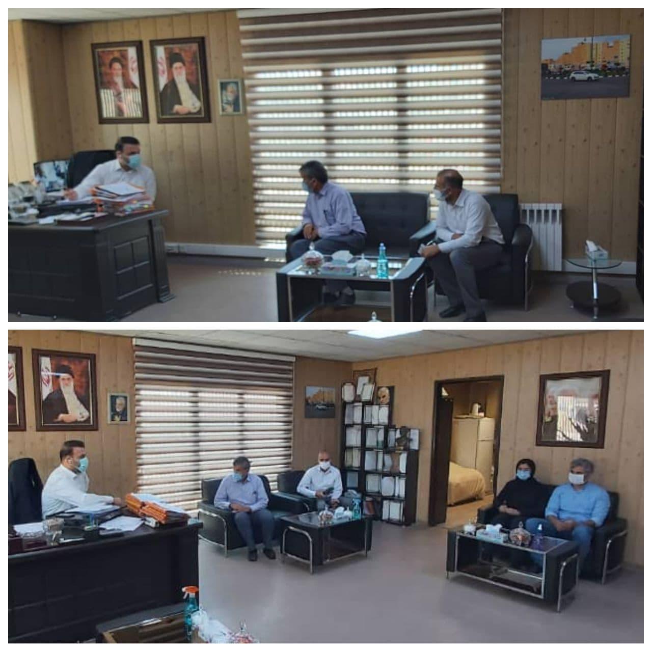 جلسه ملاقات عمومی شهردار پرند با شهروندان برگزار شد