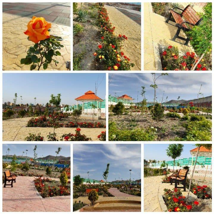 طبیعت زیبای بوستان بانوان با تلاش مدیریت شهری بوستان_بانوان؛ محیطی جذاب و امن برای بانوان شهر پرند