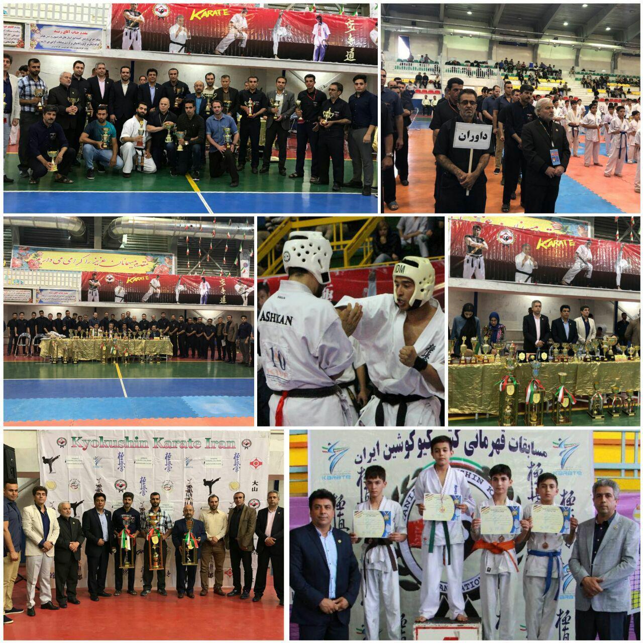 کسب مقام قهرمانی کشور توسط تیم کاراته شهر پرند