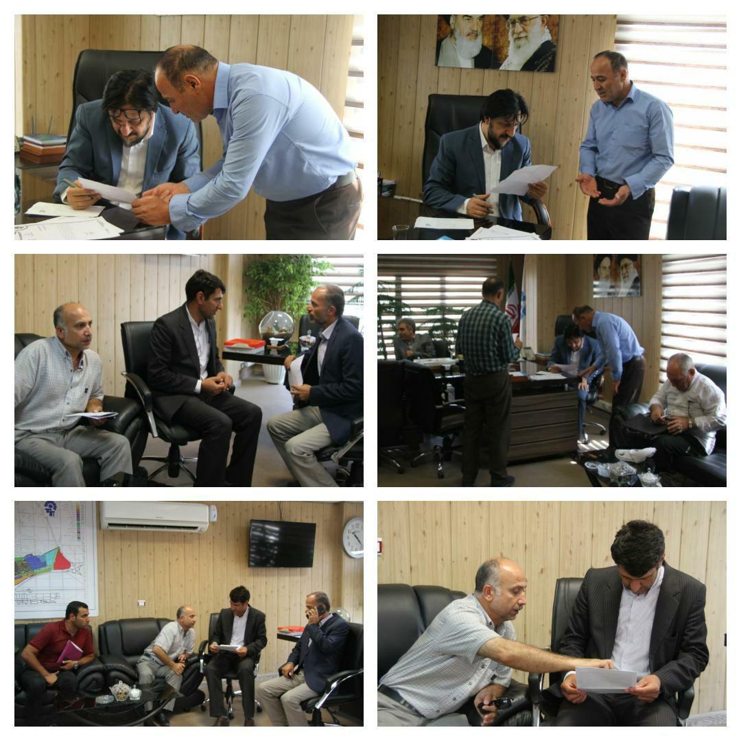 برگزاری جلسه ملاقات مردمی شهردار پرند با شهروندان