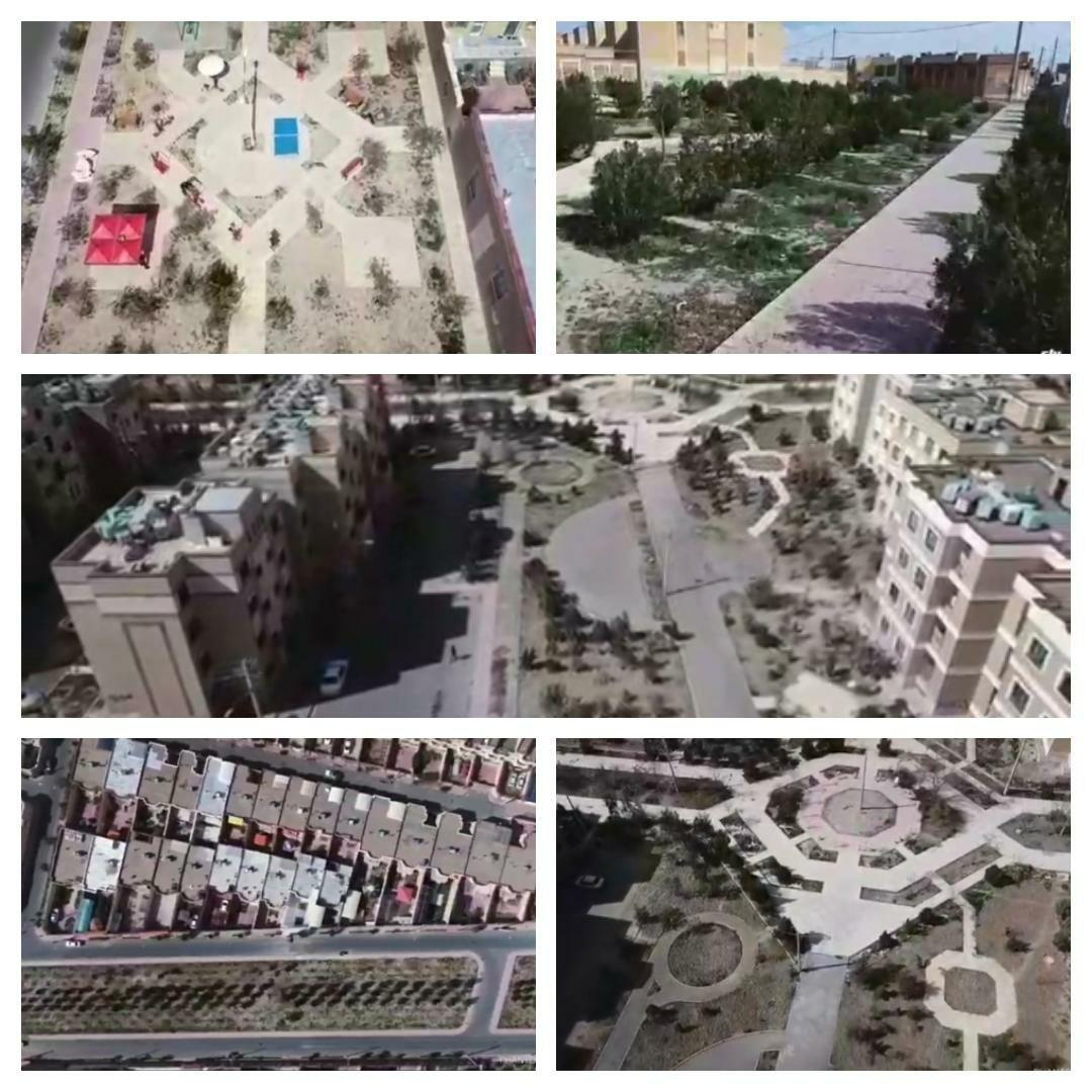 عملیات پایش فضاهای سبز، پارک ها و بوستان های محلی شهر پرند با بهره گیری از فناوری هلی شات