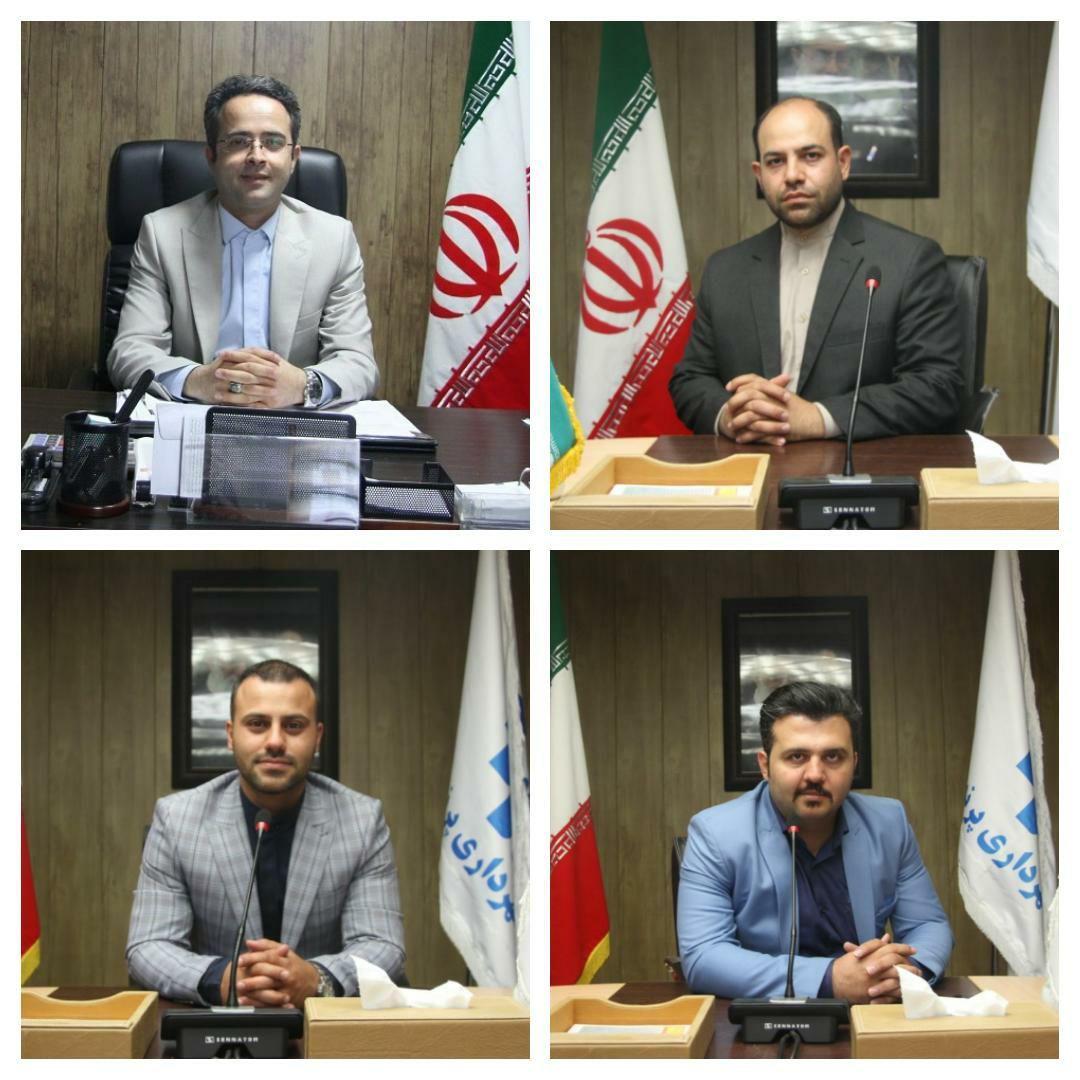 انتصاب مسئولین جدید در شهرداری پرند