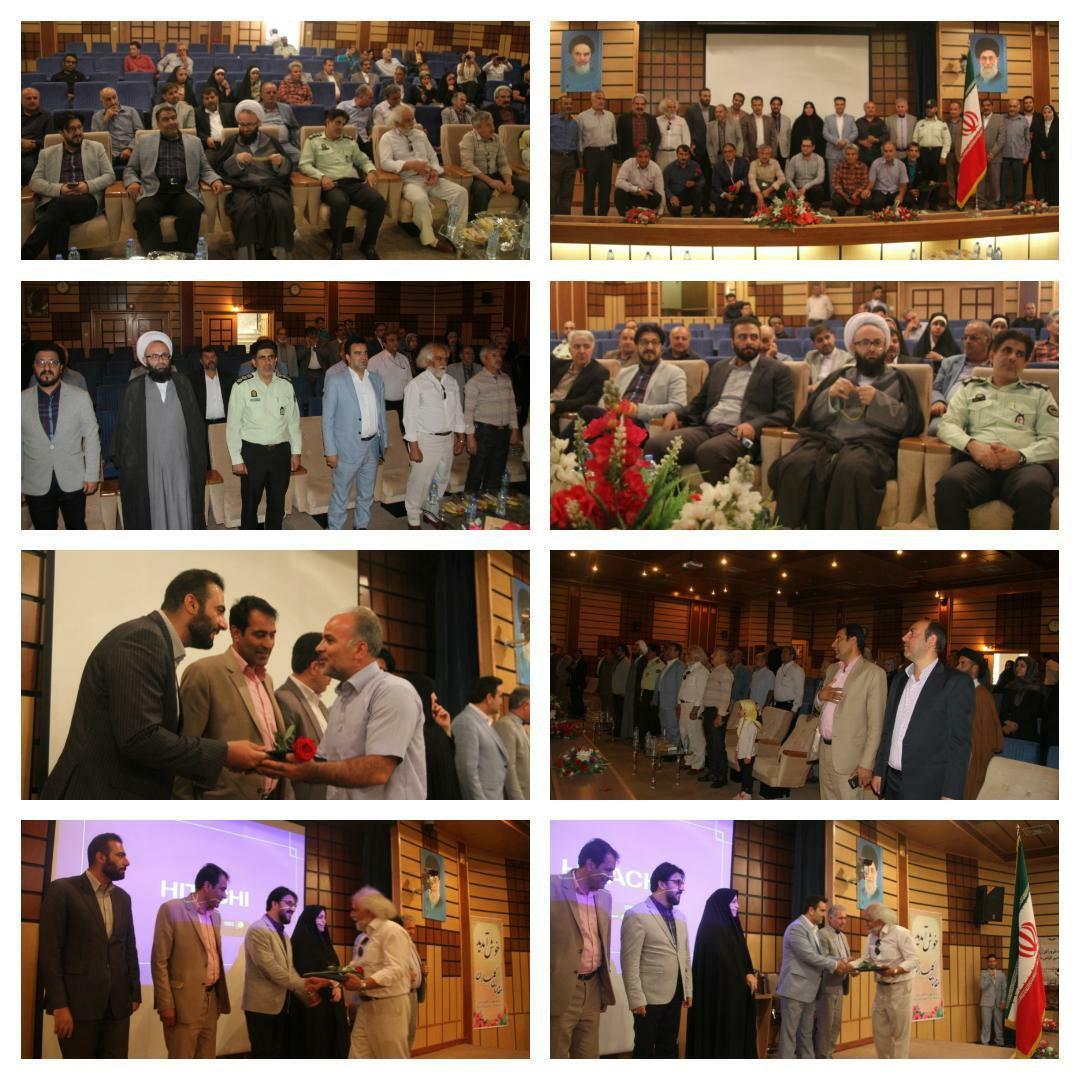 برگزاری مراسم تجلیل از آزادگان سرافراز شهرستان رباط کریم، پرند و نصیر شهر در دانشگاه آزاد شهر پرند