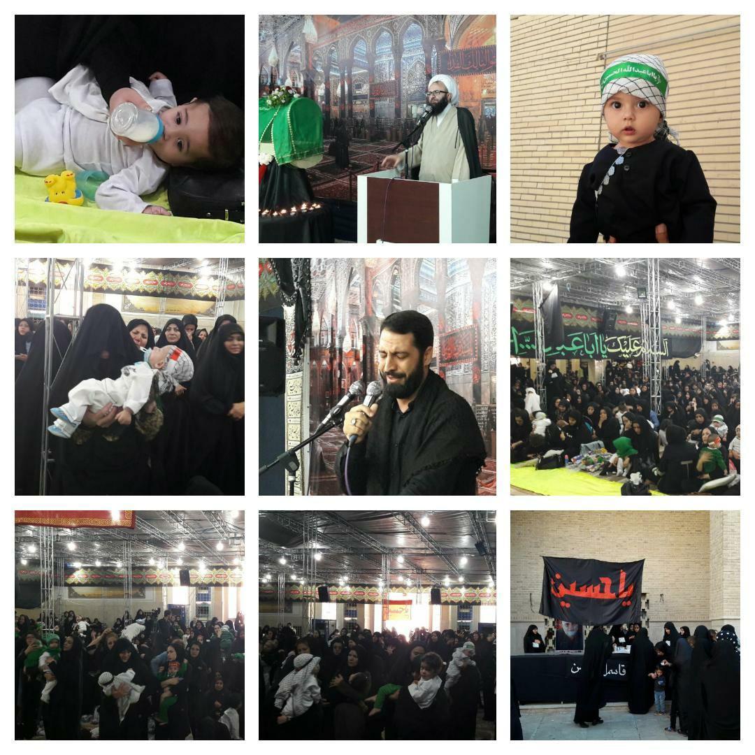 شکوه یکدلی و ایمان در همایش شیرخوارگان حسینی در مسجد جامع شهر پرند