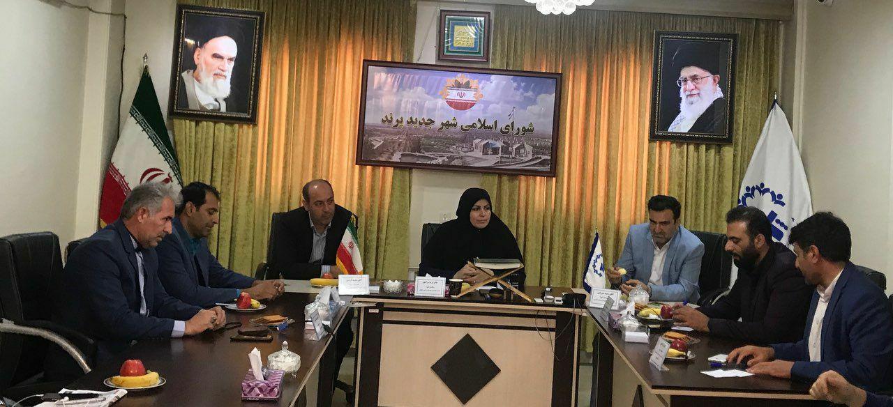 برگزاری جلسه شورای اسلامی شهر پرند جهت انتخاب شهردار جدید