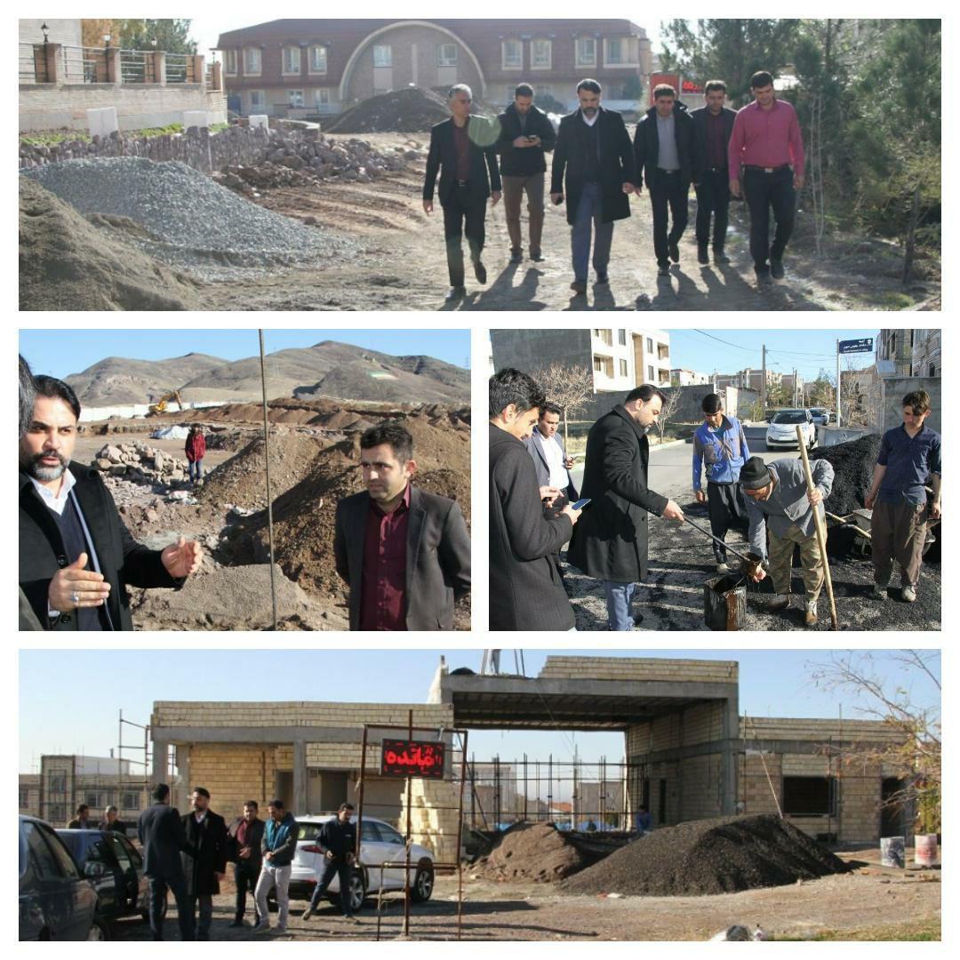 تأکید شهردار پرند بر دقت، کیفیت و تسریع در اجرای پروژه های عمرانی