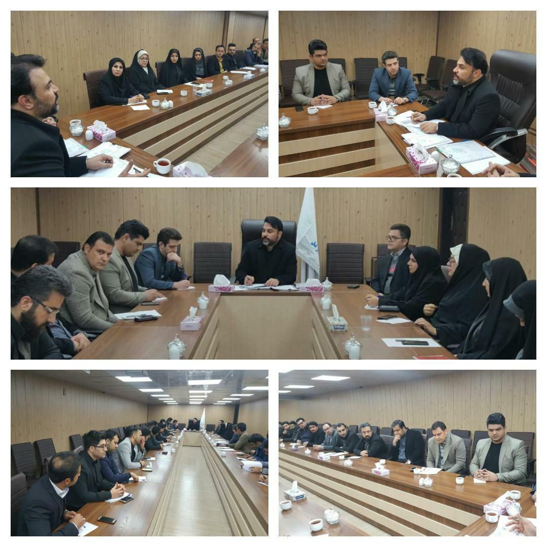برگزاری دومین جلسه شورای معاونین و مدیران شهرداری پرند