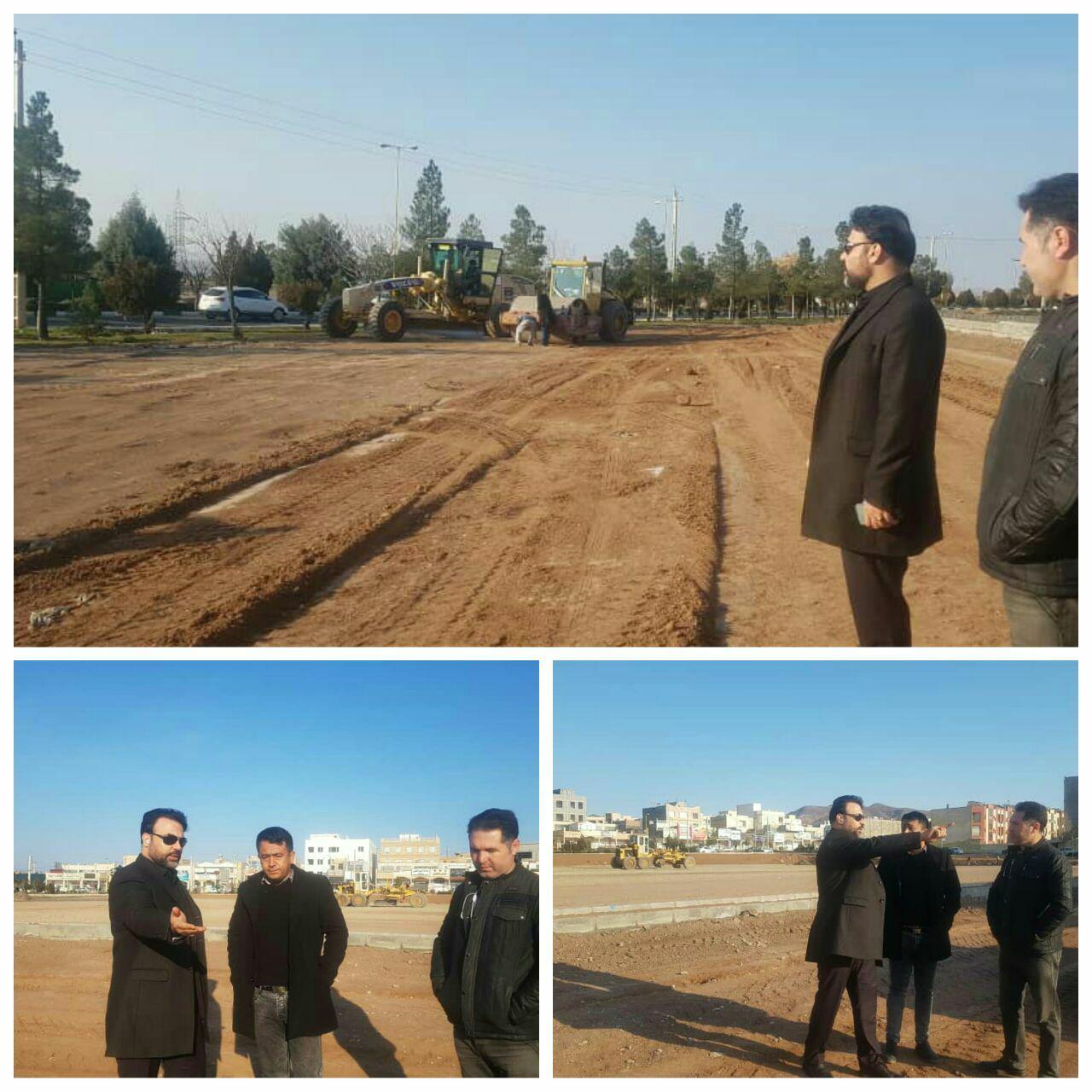 تأکید بر تسریع در اجرای پروژه ها در بازدیدِ صبح امروز شهردار پرند از پروژه های عمرانی