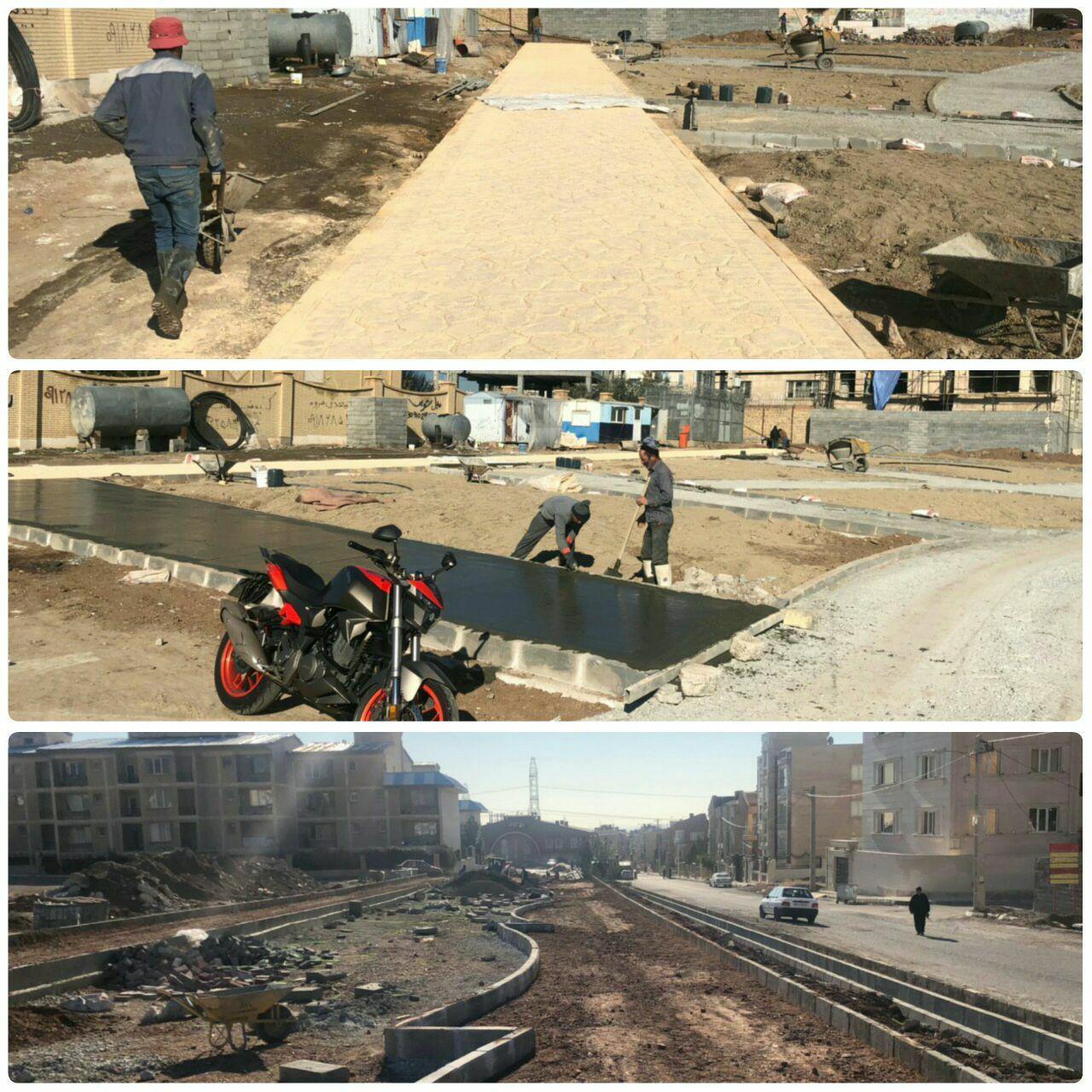 پارک محله ای امید شهر پرند و ۷۰ درصد پیشرفت فیزکی این پروژه