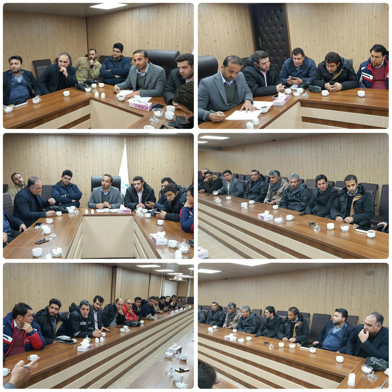 برگزاری دومین جلسه ستاد مدیریت بحران شهرداری پرند در پی بارش های اخیر