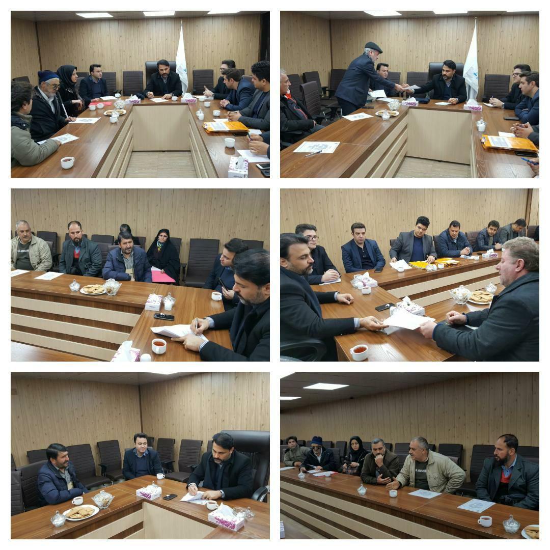 برگزاری جلسه ملاقات مردمی با شهردار پرند و رسیدگی به درخواست ها و مشکلات شهروندان