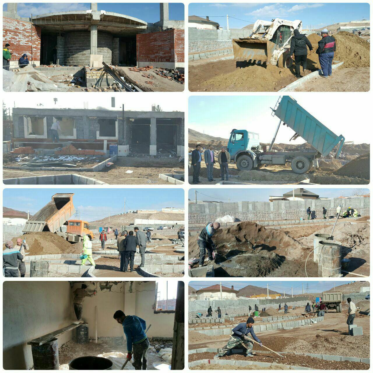 پیشرفت قابل ملاحظه بوستان بانوان شهر پرند